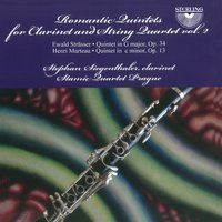 Strässer & Marteau: Romantic Quintets for Clarinet and String Quartet, Vol. 2 — Henri Marteau, Stephan Siegenthaler, Stamic Quartet Praque, Stamic Quartet Prague, Ewald Strässer, Stephan Siegenthaler|Stamic Quartet Prague