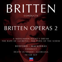 Britten conducts Britten: Opera Vol.2 — Бенджамин Бриттен