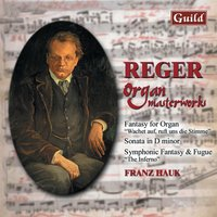 Reger: Fantasy for Organ, Sonata in D Minor, Symphonic Fantasy Fugue 'The Inferno' — Max Reger, Franz Hauk