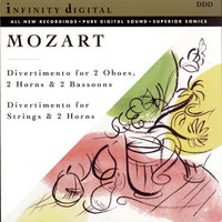 Infinity Digital: Mozart: Divertimenti, K. 252 & 287 — New Classical Orchestra, St. Petersburg, Alexander Titov