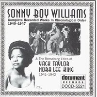 Sonny Boy Williams (1940-1947) — Sonny Boy Williams & Other Artists