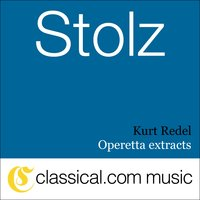 Robert Stolz, Operetta Extracts — Kurt Redel