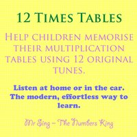 12 times tables mr sing the numbers king for 12 times table song