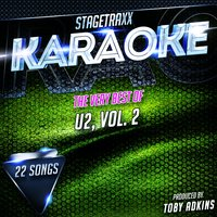 Stagetraxx Karaoke : The Very Best of U2, Vol. 2 — Toby Adkins