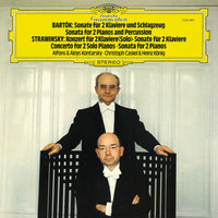 Bartók: Sonata for 2 Pianos and Percussion; Stravinsky: Concerto & Sonata for 2 Pianos — Christoph Caskel, Aloys Kontarsky, Alfons Kontarsky, Heinz Konig