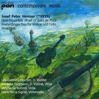 Contemporary Music — Josef Peter Heinzer