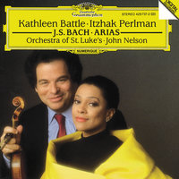 J.S. Bach: Arias for Soprano and Violin — John Nelson, Orchestra Of St Luke's