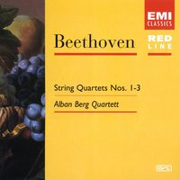 Beethoven: String Quartets 1,2 & 3 Op.18 — Alban Berg Quartett, Alban Berg Quartet, Людвиг ван Бетховен