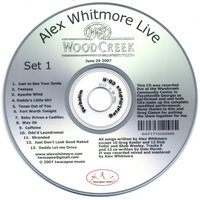Woodcreek Live — Alex Whitmore