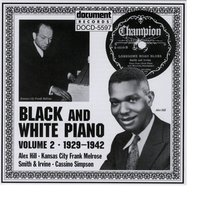 Black And White Piano Vol. 2 (1929-1942) — Various Artists - Document Records