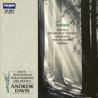 Sibelius: Tapiola, Oceanides, En Saga, Swan of Tuonela — Royal Stockholm Philharmonic Orchestra, Sir Andrew Davis, Royal Stockholm Philharmonic Orchestra and  Davis, Andrew, Royal Stockholm Philharmonic Orchestra and Sir Andrew Davis