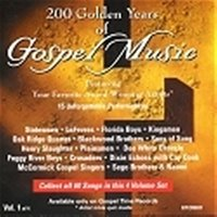 200 Golden Years of Gospel Music - Vol 1 — сборник