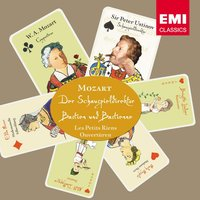 Mozart: Der Schauspieldirektor / Bastien und Bastienne / Les Petits riens / Ouvertüren — Sir Peter Ustinov, Sir Neville Marriner, Academy of St. Martin in the Fields, Bayerisches Staatsorchester, Eberhard Schoener, Вольфганг Амадей Моцарт