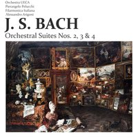 J. S. Bach: Orchestral Suites Nos. 2, 3 & 4 — сборник