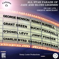 All Star Parade of Jazz and Blues Legends, Vol. 6 - The Guitars — Ron Carter, Joe Lovano, Von Freeman, Dan Lester