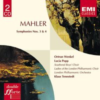 Mahler:Symphonies 3 & 4 — Густав Малер, Klaus Tennstedt/London Philharmonic Orchestra