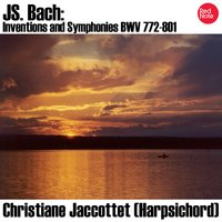 Bach: Inventions and Sinfonias BWV 772-801 — Christiane Jaccottet