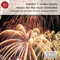 Handel: Water Music Suites; Music For The Royal Fireworks — Jean-Francois Paillard