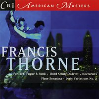 Music of Francis Thorne — Francis Thorne