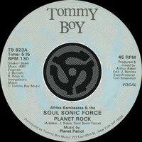 Planet Rock / Planet Rock — Afrika Bambaataa, Afrika Bambaata & The Soul Sonic Force, Afrika Bambaataa & The Soulsonic Force, The Soulsonic Force