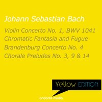 Yellow Edition - Bach: Chromatic Fantasia and Fugue & Brandenburg Concerto No. 4 — Christiane Jaccottet, Otto Winter, Hans Swarowsky, Bamberg Philharmonic Orchestra, Иоганн Себастьян Бах