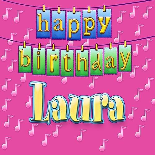 Открытки с днем рождения с именем лаура