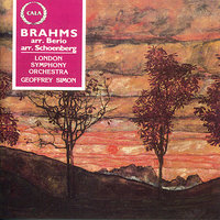 Brahms: Piano Quartet in G Minor Op.25; and Op.120, No.1 for Clarinet and Orchestra — London Symphony Orchestra (LSO), James Campbell, Geoffrey Simon, Иоганнес Брамс, Арнольд Шёнберг, Лучано Берио