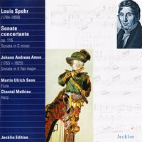 Louis Spohr & Johann Andreas Amon: Sonatas for Flute and Harp — Martin Ulrich Senn, Chantal Mathieu, Луи Шпор