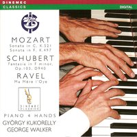 Mozart, Schubert & Ravel: Piano 4 Hands — George Walker & Gyorgy Kukorelly
