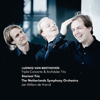 Beethoven: Triple Concerto & Archduke Trio — Людвиг ван Бетховен, Jan Willem de Vriend, The Netherlands Symphony Orchestra, Storioni Trio