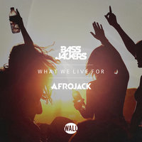 What We Live For — Afrojack, Bassjackers