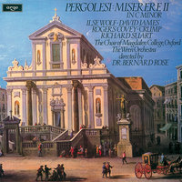 Pergolesi: Miserere in C minor — David James, Richard Suart, Rogers Covey-Crump, Ilse Wolf, The Wren Orchestra, Bernard Rose