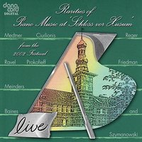 Rarities of Piano Music 2002: Live Recordings from the Husum Festival — сборник