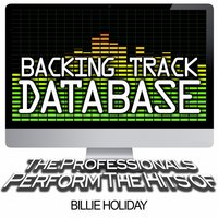 Backing Track Database - The Professionals Perform the Hits of Billie Holiday — The Professionals