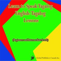 Learn to Speak Tagalog, English-Tagalog Lessons — Global Publishers Canada Inc.