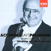 Accardo Plays Paganini - Vol. 1 — Salvatore Accardo, Orchestra Da Camera Italiana, Никколо Паганини