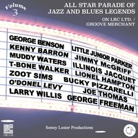 All Star Parade of Jazz and Blues Legends, Vol. 3 — George Benson, Buddy Rich, Ron Carter, Joe Lovano, Kenny Barron
