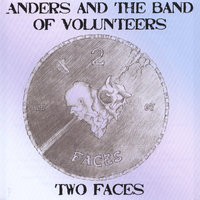 Two faces — Anders and the band of volunteers