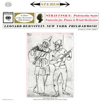 Stravinsky: Concerto for Piano and Wind Instruments & Pulcinella Suite — Леонард Бернстайн, New York Philharmonic Orchestra