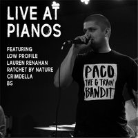 Live at Pianos — Paco the G Train Bandit