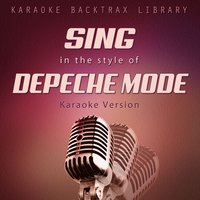 Sing in the Style of Depeche Mode — Karaoke Backtrax Library