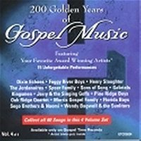 200 Golden Years of Gospel Music - Vol 4 — сборник