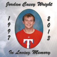 In Loving Memory (Jordan Casey Wright 1997-2013) — Josh Holiday