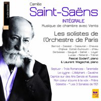 Camille Saint-Saëns : Complete Chamber Music With Winds — Orchestre De Paris