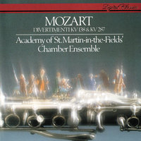 Mozart: Divertimenti, K.287 & K.138 — Academy of St. Martin in the Fields Chamber Ensemble