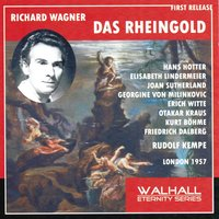 Richard Wagner : Das Rheingold — Рихард Вагнер, Orchestra of the Royal Opera House, Covent Garden, Rudolf Kempe