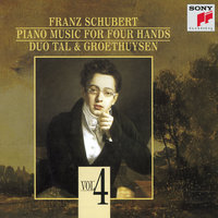Schubert:  Piano Music for Four Hands, Vol. IV — Tal & Groethuysen