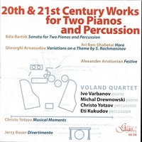 20th And 21st Century Works For Two Pianos And Percussion — Voland Quartet