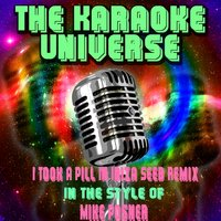 I Took A Pill In Ibiza Seeb Remix[In The Style Of Mike Posner] — The Karaoke Universe