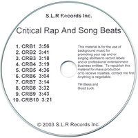 Critical Rap and Song Beats — Beats Master